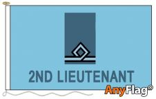 - 2ND LIEUTENANT ANYFLAG RANGE - VARIOUS SIZES